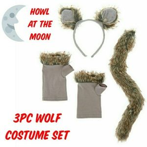 Howl at the Moon 3pc Wolf Halloween Costume Set